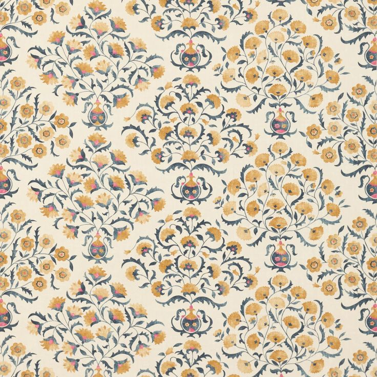 Ottoman Flowers (DSOH225350) | Sojourn Prints & Embroideries