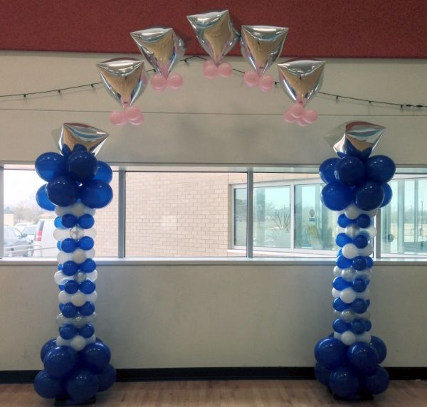 1515 Best Balloon Columns Images On Pinterest