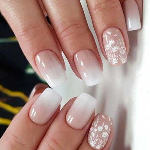 Best Ombre Nails for Fall \u2013 30 Fall Ombre Nails for 2019