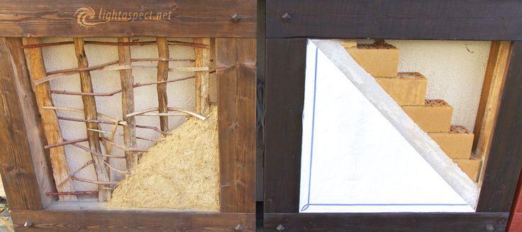 Fachwerkbau mit Lehm und Ziegel. Eine Doku dazu auf www.lightaspect.net