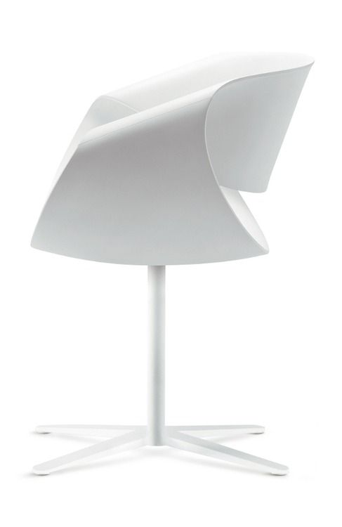 ♂ Unique white chair