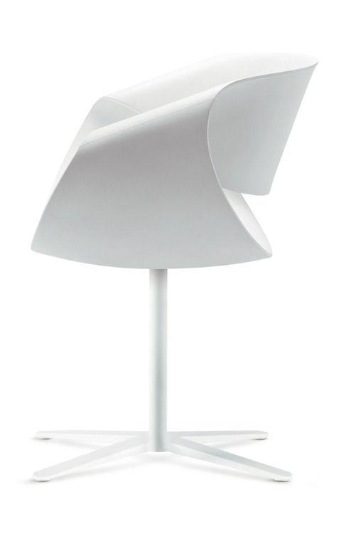 ♂ Unique white chair