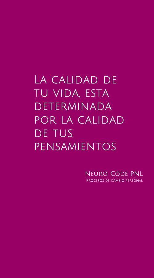 PNL y Calidad de vida Cartel promocional de https://www.facebook.com/NeuroCodePNL