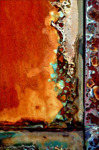 Rust | さび | Rouille | ржавчина | Ruggine | Herrumbre | Chip | Decay | Metal | Corrosion | Tarnish | Texture | Colors | Contrast | Patina | Decay | LuAnn Ostergaard