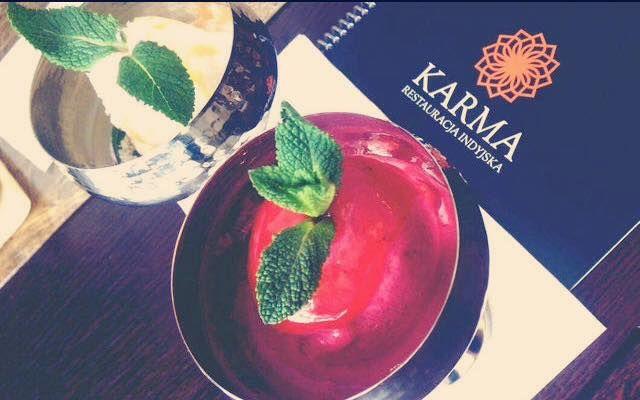 Dzisiaj u nas #lody malinowe i kokosowe! Przyjdźcie i sami spróbujcie @ Karma Restaurant :) http://www.restauracjakarma.pl/