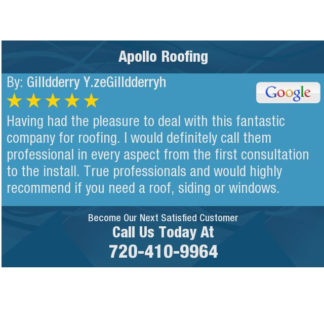 Having had the pleasure to deal with this fantastic company for roofing.  I would...