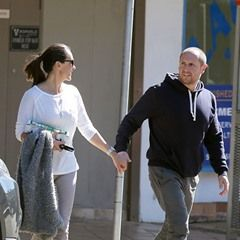 EXCLUSIVE Larry Emdur spotted holding hands with wife Sylvie