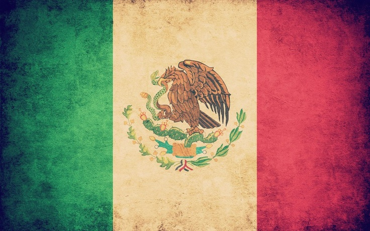 Mexican flag is my national flag. I was born in Mexico and