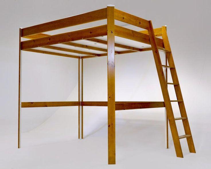 Les 25 meilleures id es de la cat gorie lit mezzanine 140x200 sur pinterest lit mezzanine 140 - Camif bed frame ...