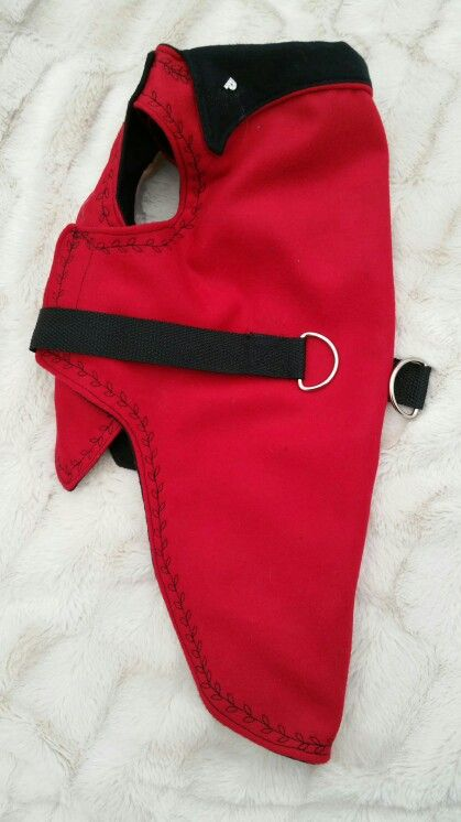 Striking red cashmere coats
