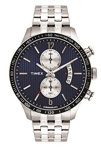 Timex E-Class Analog Silver Dial Men's Watch - TWEG14903 ...