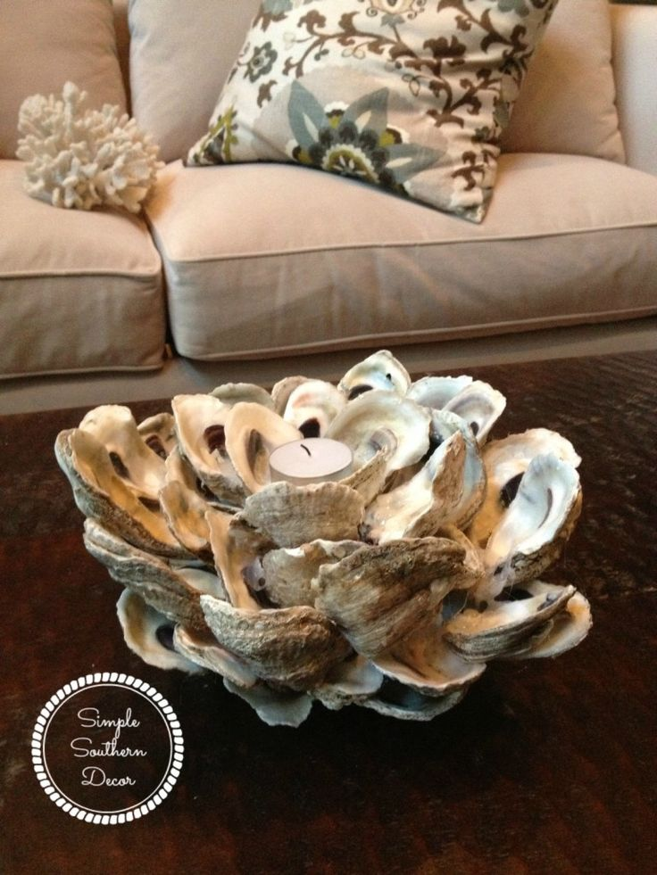 Best 25 oyster shells ideas on pinterest oyster shell for Diy shell crafts