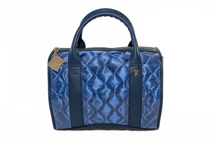 Crystal Bag - All Ocean Blue www.federicalunello.com #federicalunello #bags #accessories #handamade #madeinitaly