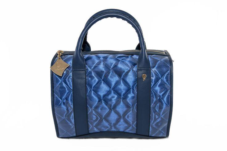 Crystal Bag - All Ocean Blue www.federicalunello.com #federicalunello #bags #accessories #handamade #madeinitaly