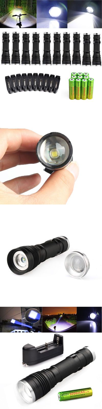 LED Light Key Chains: 10Pc Ultrafire Military Camping T615000lm Led Flashlight 18650 Police Torch Lamp -> BUY IT NOW ONLY: $42.99 on eBay!