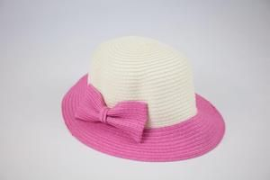 Straw Hat with Bow