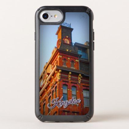 Kingston Ontario Images Speck iPhone Case - real estate gifts business cyo diy customize