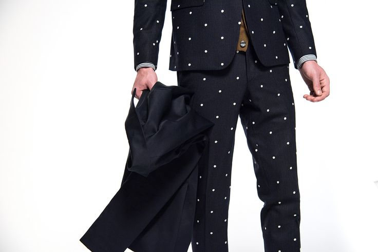 Brian Dales #Italian Style  FW2015/16 Collection  #man #clothes #pois.