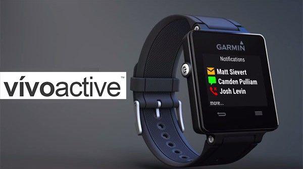 Garmin Vivoactive - ceas inteligent