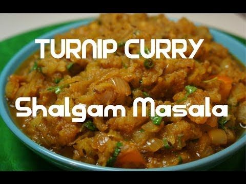 Turnip Curry - Shalgam Masala #Indian #vegan