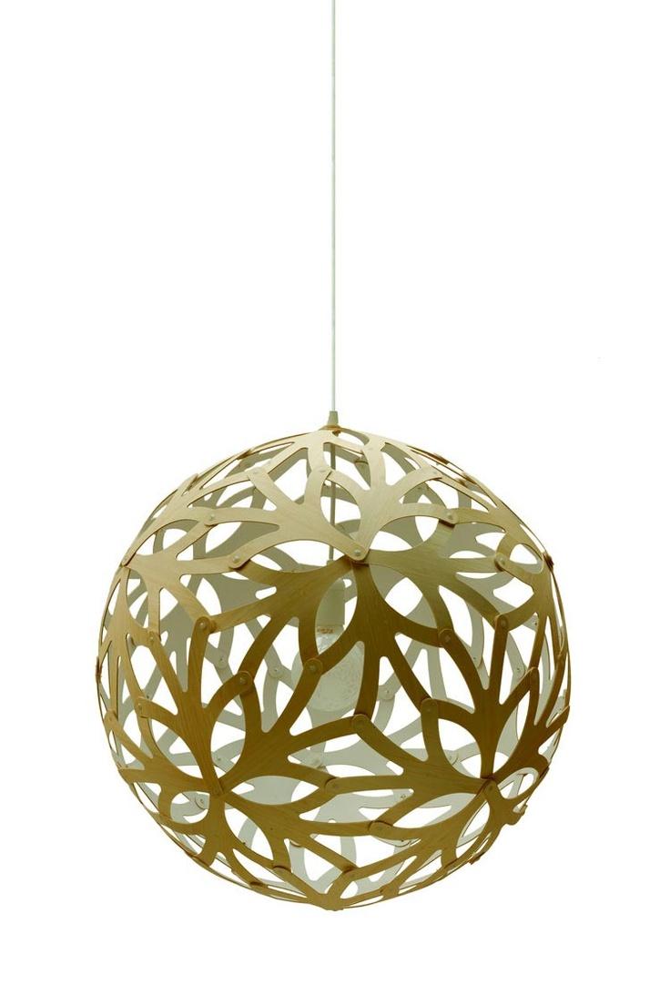 David Trubridge - Floral 400 Pendant Lamp DTL058 at 2Modern white interior