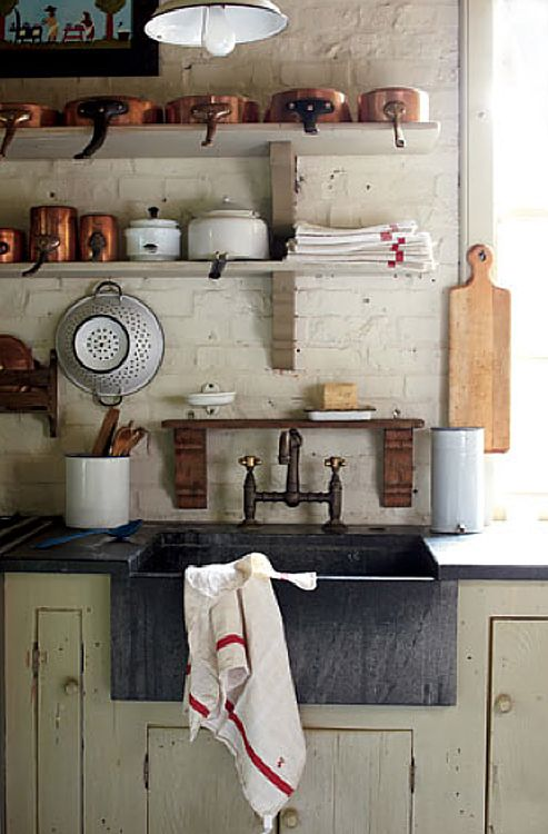 Cabin Kitchens Kitchens And Sinks On Pinterest