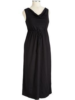 Cowl-Neck Maxi Dresses