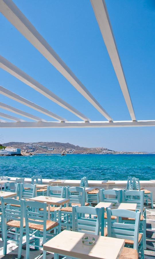 Mykonos in Summer, Greece