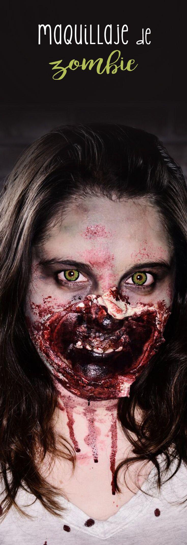 Maquillaje de Zombie Este tip te mostrará lo fácil que es convertirte en zombie para este próximo Halloween. Serás la sensación de la fiesta de disfraces y seguro espantarás a varios.