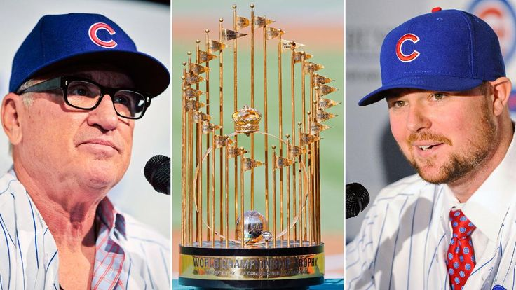 After 107 years, Joe Maddon, Jon Lester & Co. will hoist the World Series trophy.  Here's hoping!