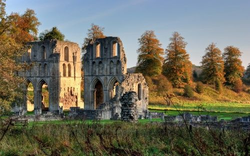 """Picture of South Yorkshire - Pictures of England """"Roche Abbey in October"""""""