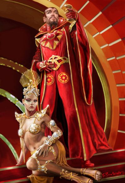 THE EMPEROR MING by *warlordwardog