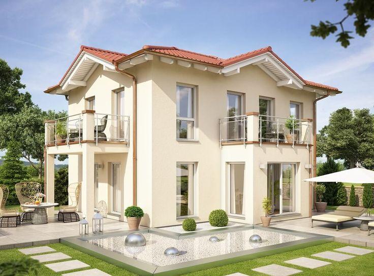 Fertighaus modern walmdach  39 besten Stadtvillen Bilder auf Pinterest | Stadtvilla, Garten ...
