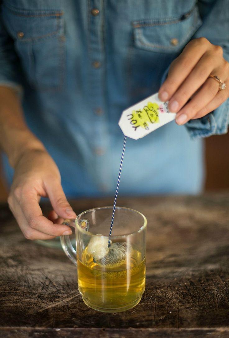 Tea bags verticale tazza