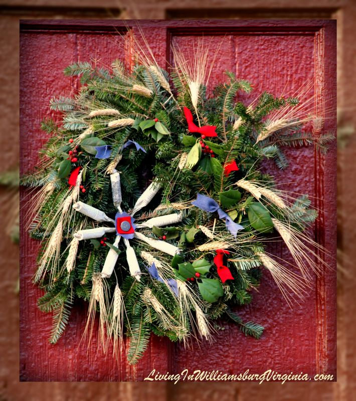 Christmas Decorated House Alexandria Va: 81 Best COLONIAL Decorated DOOR Images On Pinterest