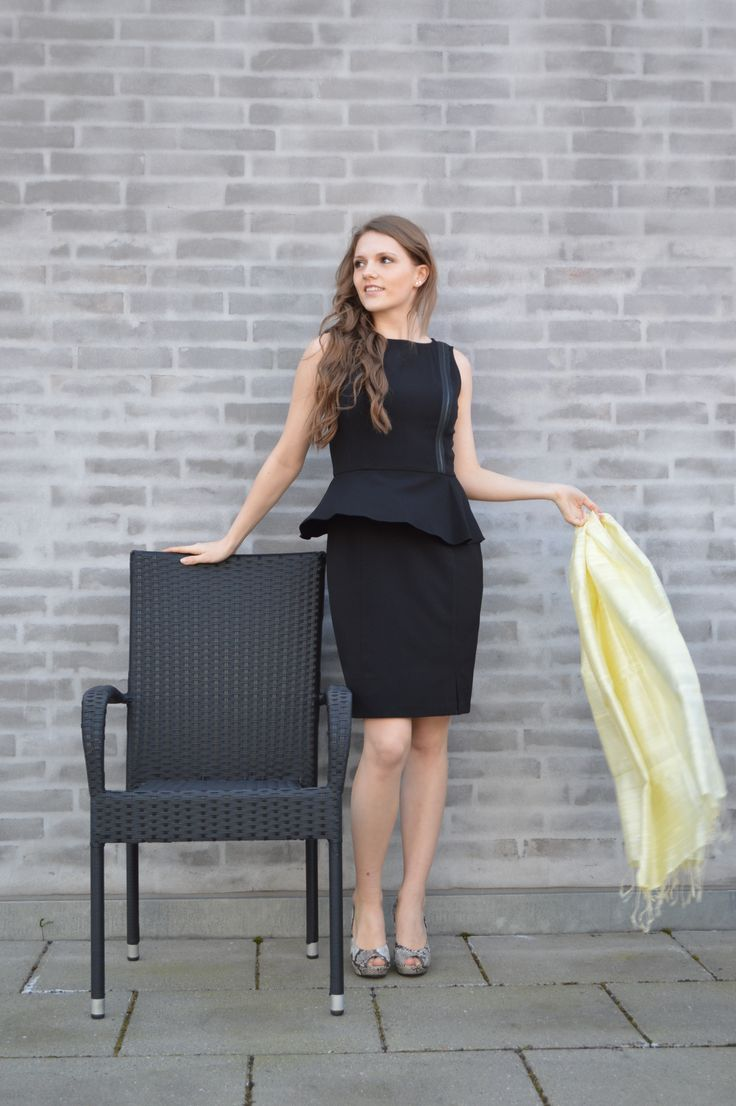 Super skøn kjole! #Skott #Kjole #Sort #Mode #Fashion #tøj #kvinder #fest #Galla