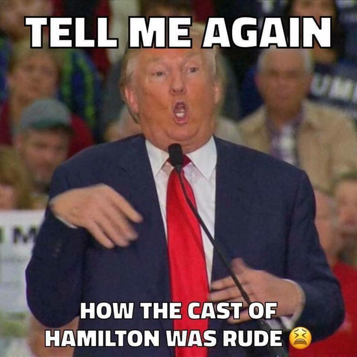Trump mocks a reporter (and with that all special needs people), but the cast of Hamilton (who gave a polite and respectful speech) is supposed to apologize?   Trump = Bully.