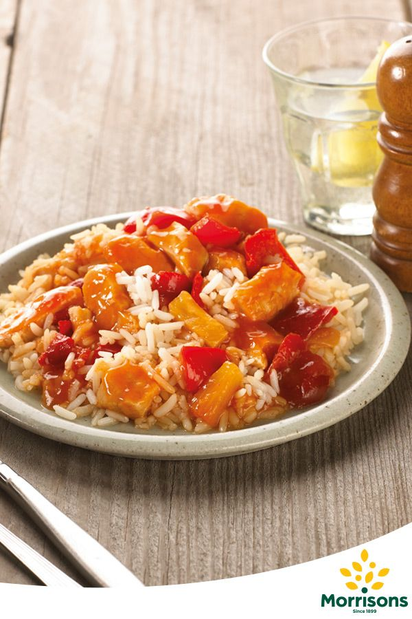 Find sweet & sour chicken ready meal from our EatSmart 'counted' range available in selected stores
