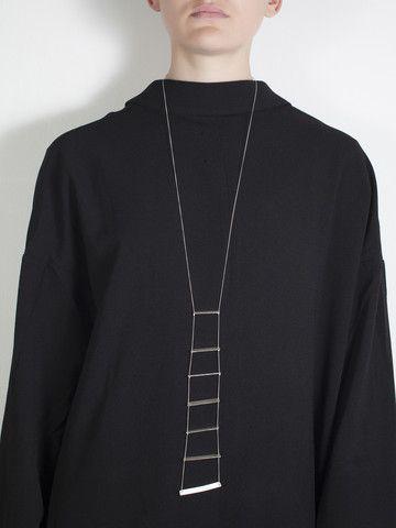 soft geometry necklace 02 by Linnie Mclarty