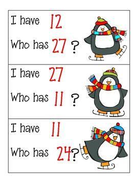 Penguin Cards 1-30