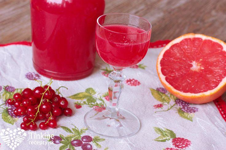 Domáci aperol - ríbezľovo-grepový likér - Powered by @ultimaterecipe