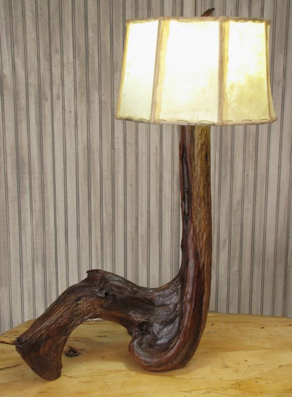 Best Images About Log And Driftwood Furniture Lamps