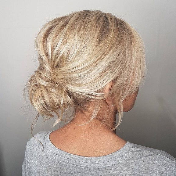 Loose Updo Updo Hairstyle For Blonde Hair Hairstyle For