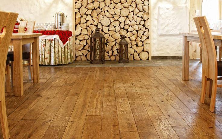 góralski drewniany styl - Dąb Arvade