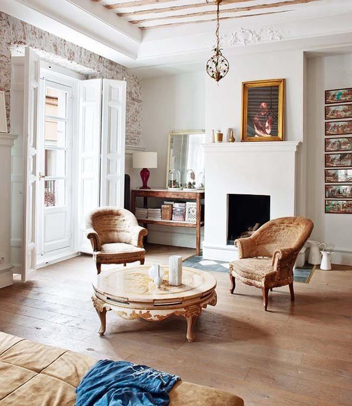 Exceptional Diese Adorable Wohnung In Madrid Ist Elegant Trifft Weinlese, Voll Von  Antiken Möbeln Und Mit Entzückenden Ursprünglichen Eigenschaften. Design