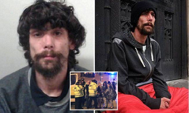 'Homeless hero' stole phones from Manchester Bomb victims #DailyMail