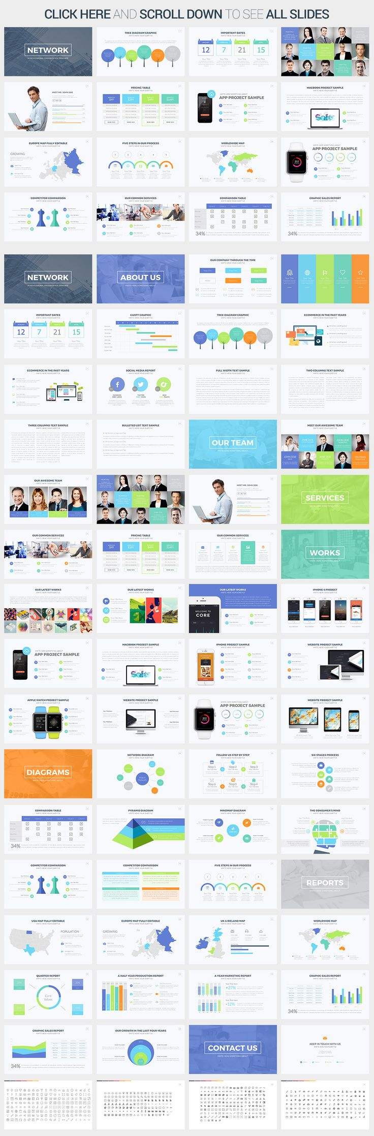 42 best images about best powerpoint templates on pinterest mobile app creative and social. Black Bedroom Furniture Sets. Home Design Ideas