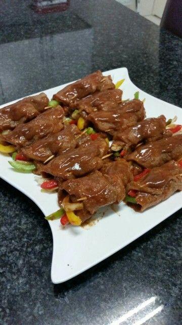 Saucy Steak