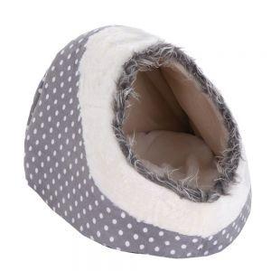Cuccia nicchia in morbido peluche per gatti, conigli o cani piccolissimi (taglia toy). #cuccia #nicchia #gatti #conigli #cani #toy http://www.principini.it/prodotti/gatti/cucce-nicchie-gatti/cuccia-nicchia-per-gatti