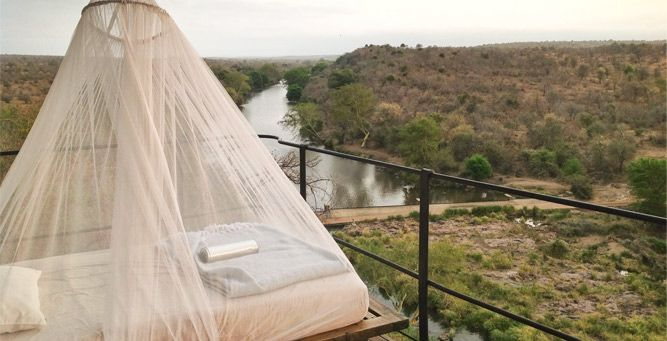 Most Romantic Beds with a View - Singita Lebombo  #love #romance #valentinesday #africa #weloveafrica